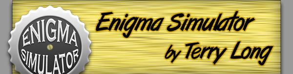 Enigma Simulator for Mac – by Terry Long